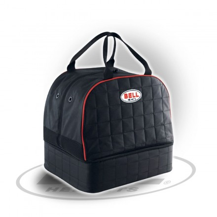 HELMET & HANS BAG BLACK